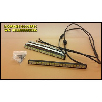 ( DRL + Sein ) 2 baris LED SMD 5730 DRL Daytime Running Light