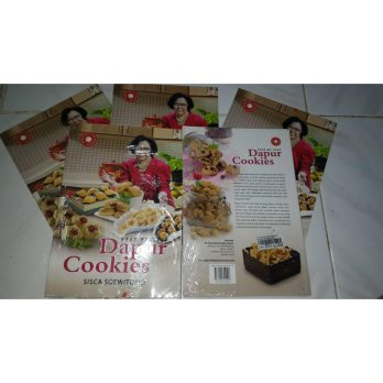 Step by step dapur cookies + DVD tips memasak Sisca Soewitomo