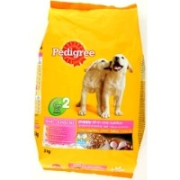 Makanan Anjing Pedigree Puppy 400gr Chicken & Egg