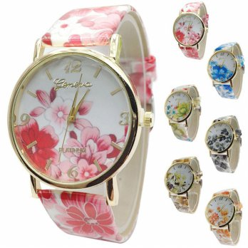 Hot Fashion Retro Garden Flowers Watches Student Casual Watch