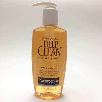 Neutrogena Deep Clean Facial Cleanser 200ml - Pembersih Wajah