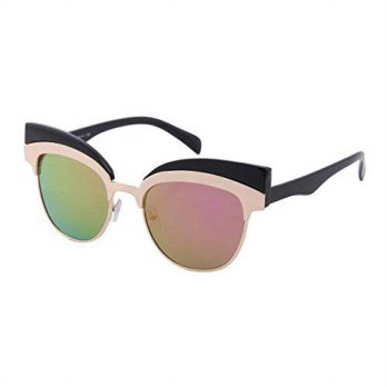[macyskorea] Damara Womens Color Block Spliced Cat Eye Shaped Chic Sunglasses,Black Frames/12666071