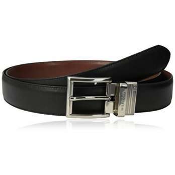 [Macyskorea] Tommy Hilfiger Mens Big-tall Dress Reversible Belt With Polished Nickel Buckl / 11182868