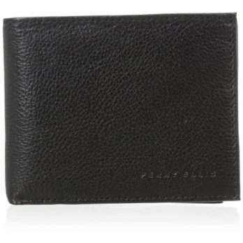 [Macyskorea] Perry Ellis Mens Indiana Pass Case Wallet, Black, One Size / 11228218