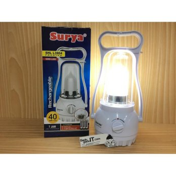 Lampu Senter LED SURYA SHL L3904 Emergency Lamp Darurat (RECHARGEABLE)
