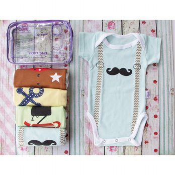 [Platinum] KAZEL BODYSUIT JUMPER BOY 1BOX ISI 4 PCS
