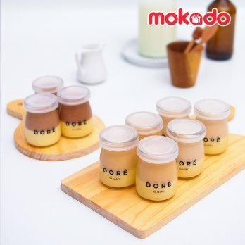 DORE BY LeTAO - SET OF 4 FROMAGE POT
