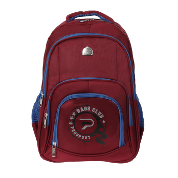 Prosport Backpack 2858-21 Red Blue