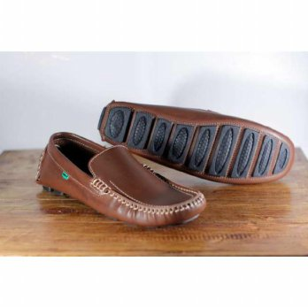 Sepatu Slip On Kick Amongs Mocasin Sol Tanam, Ukuran 39-43.