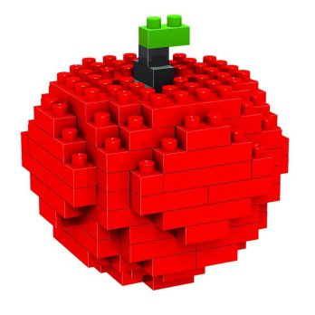 nanoblocks apple Microparticles Blocks