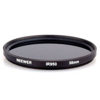 [holiczone] Neewer 58MM Infrared Filter - IR950/950NM - for Canon EOS Rebel T2i + ANY Came/148877