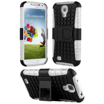 [holiczone] Handhelditems HHI Dual Armor Composite Case with Stand for Samsung Galaxy S4 A/157860