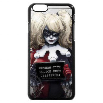 [holiczone] Onelee Harley Quinn Custom Phone Case for iPhone 6 4.7, DC comics Harley Quinn/162513