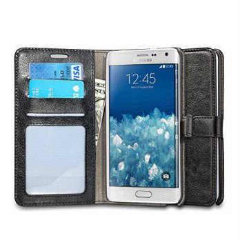 [holiczone] J&D Tech Samsung Galaxy Note Edge Case, J&D [Stand View] Note Edge Wallet Case/160902
