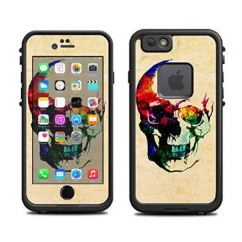 [holiczone] Itsaskin Skin for Lifeproof iPhone 6 Case (skins/decals only) - Color Skull Ar/162942