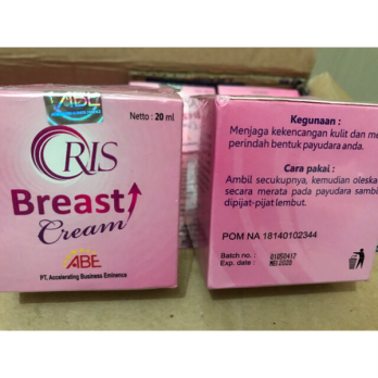 Oris Breast Cream Original (ada sticker hologram)