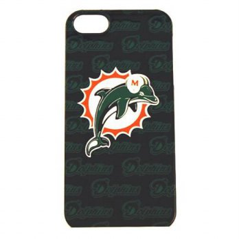 [holiczone] Siskiyou NFL Miami Dolphins iPhone 5 Graphics Snap on Case/164001
