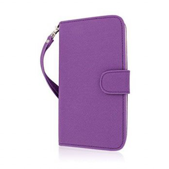 [holiczone] EMPIRE MPERO FLEX FLIP Wallet Case for Samsung Galaxy Mega 6.3 - Purple/165046