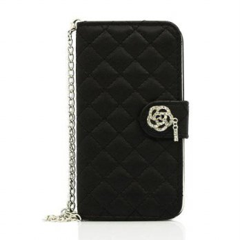 [holiczone] Gearonic GEARONIC TM Bling PU Leather Flip Wallet Case Cover with String Strap/172257