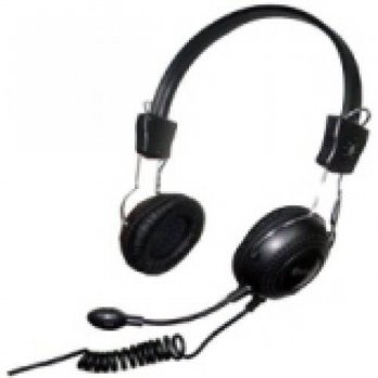 [holiczone] Connectland SYBA CL-CM-5023 / STEREO HEADPHONE W MICROPHONE 3.5MM BLACK W/ADJU/173236