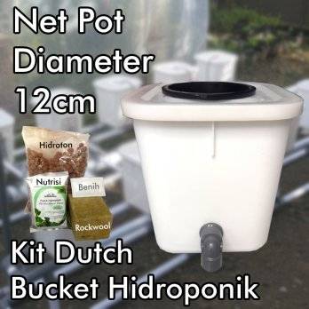 Kit Dutch Bucket Hidroponik