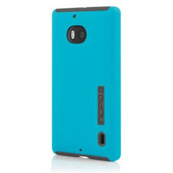 [holiczone] Incipio DualPro Case for Nokia Lumia Icon - Retail Packaging - Cyan/Gray/176680