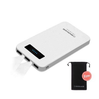 Delcell Hyper Powerbank 17000mAh Free Delcell Pouch Universal