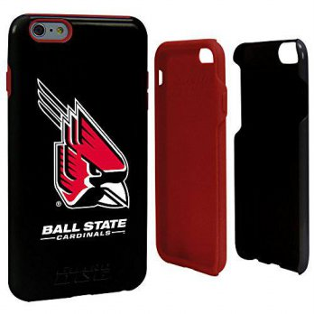 [holiczone] Ball State Cardinals Guard Dog Hybrid Case for iPhone 6 PLUS (5.5 inches)/108722