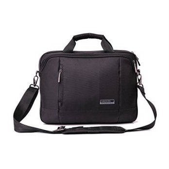[holiczone] Kingsons Bags Kingsons Elite Series 14.1 Black Waterproof Laptop Shoulder Bag/105963