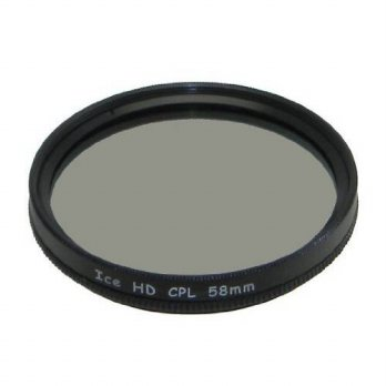 [holiczone] Ice ICE HD 58mm CPL 58 MC Filter Circular Polarizer Hard Coated EZ Clean 16 La/111697