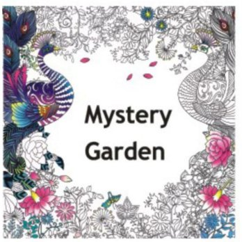 my Craft ST 7780 Colouring Books Mystery Garden