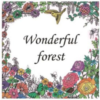 my Craft ST 7780 Colouring Books Wonderful Forest