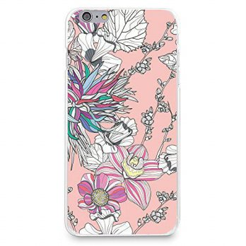 [holiczone] Hard Plastic Case for iPhone 6 / iPhone 6s, CasesByLorraine Abstract Floral Pa/112113
