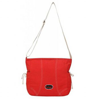 [macyskorea] Anekaant Womens Monochrome Cotton Sling Bag Free Size Red/12657308