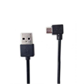 Delcell Kabel Zaxti Faster Charging Micro Usb 20cm - Hitam