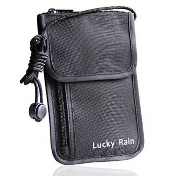 [macyskorea] Lucky Rain Travel Passport Wallet Holder with RFID Safe Blocking Hidden Secur/12657114