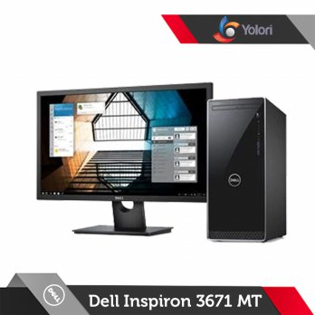 Promo Dell Inspiron 3671 MT [Ci5-9400 8GB 1TB NVIDIA 4GB Win 10 SL]+Dell Monitor D1918H