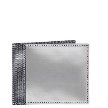 [Macyskorea] RFID Blocking Stewart / Stand Stainless Steel Wallet / 10978823