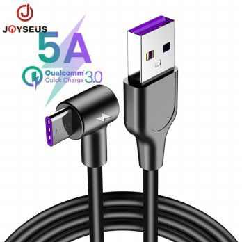 JOYSEUS Kabel data 5A USB Cable 100CM Fast Charging Type-C - KB0070-C