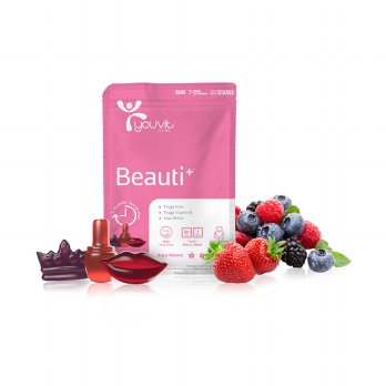 (PO UP AIA) Youvit Gummy Multivitamin Beauti+ Multivitamin [1 Sachet : 7 pcs gummy]