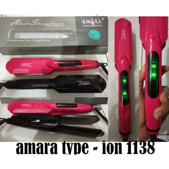 CATOKAN PELURUS RAMBUT CATOK AMARA ION 1138 HAIR STRAIGHTENER BEST SELLER