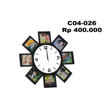 Fancy Multi Opening Clock C04-026
