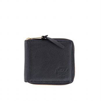 [Macyskorea] Herschel Supply Co. Walt Leather Wallet, Black Pebble, One Size / 11095492