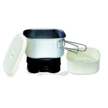 Electric Travel Multi Cooker (1 Liter) + Travel Bag Maspion EX-3051