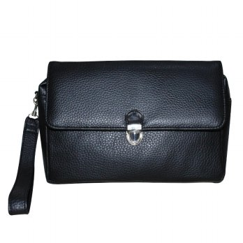 [Mathew J] Men Clutch Hitam - Men Hand Bag