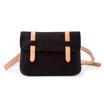 [macyskorea] BAIGIO Retro Style Genuine Leather Handcrafted Cross body Shoulder Handbag fo/12353332