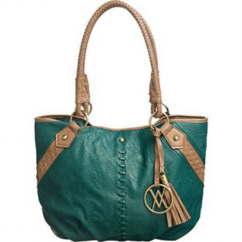 [macyskorea] Vitalio Vera Selma Teal Green Soft Large Carryall-Tote Shoulder Bag/12646801