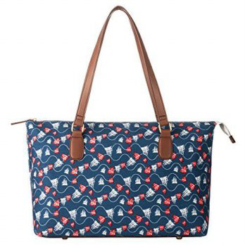 [macyskorea] La Cle LA-019Fashion Printed Beach Tote Shoulder Bag/12645833