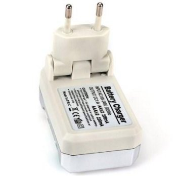 BTY-809 rechargeable battery baterai charger 2 AA 2 AAA