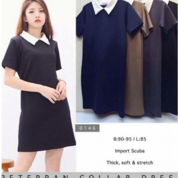 Peterpan collar dress